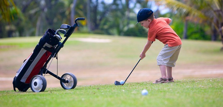 Гольф для детей