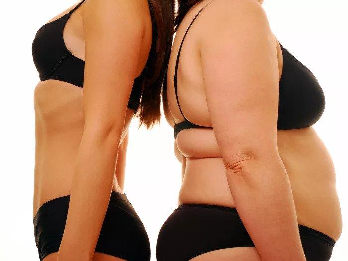 Две женщины с разными частями тела