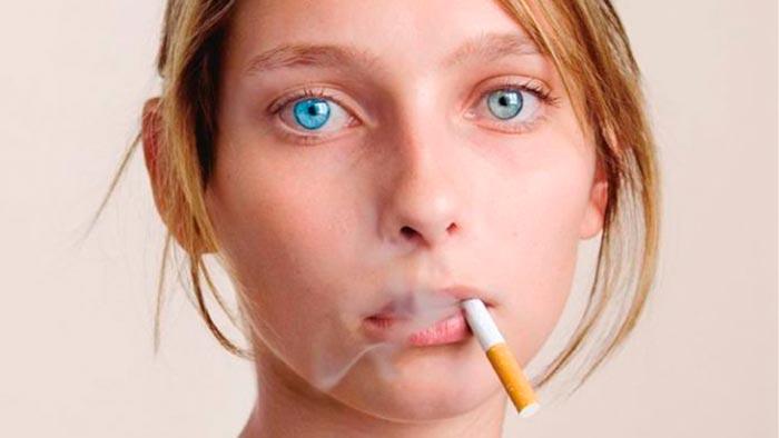 Как курение влияет на зрение