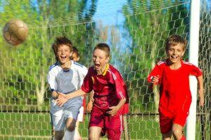 Победа юного спортсмена