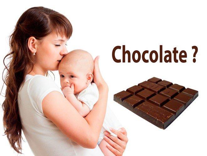 Можно ли есть шоколад при грудном вскармливании новорожденного: какой лучше