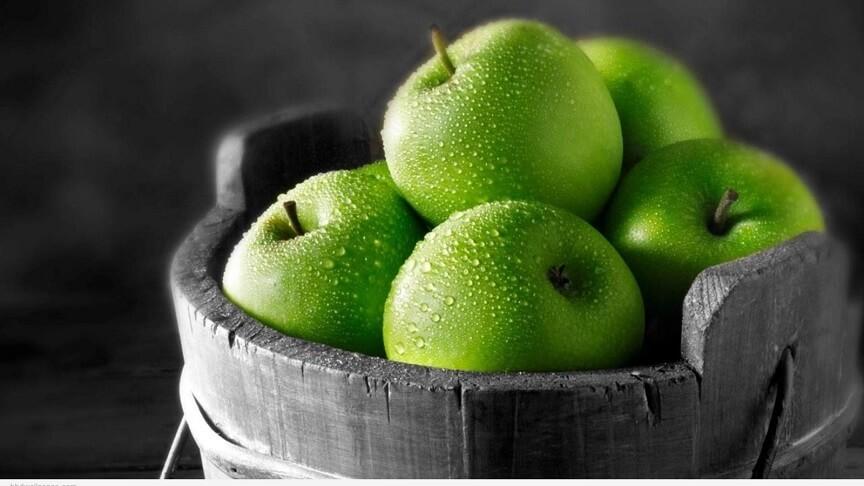 зелённые яблоки - гипоаллергенны