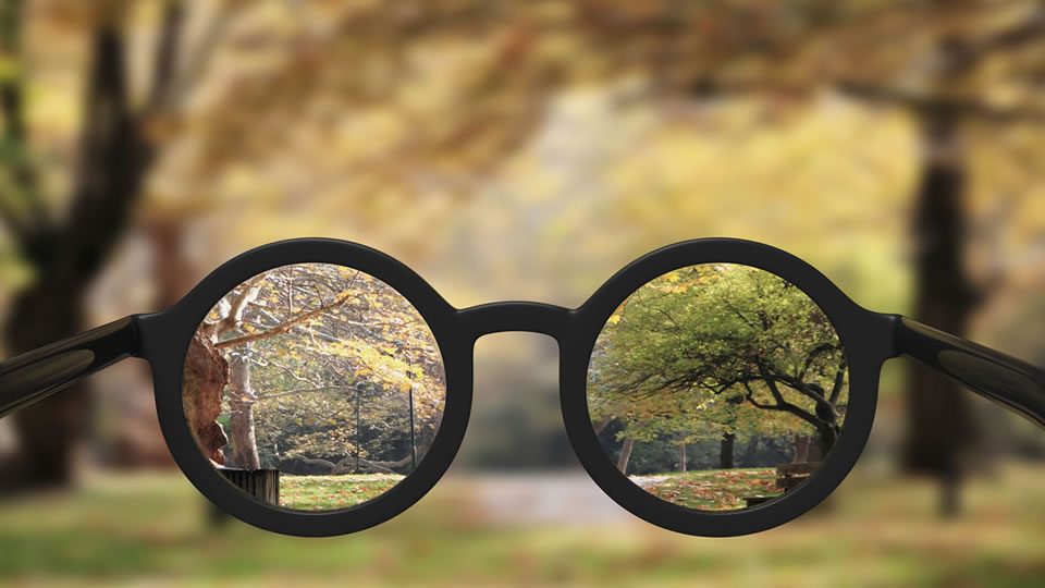 расплывчатое зрение