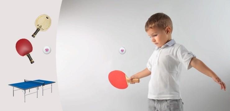 Настольный теннис для детей: как правильно подобрать экипировку