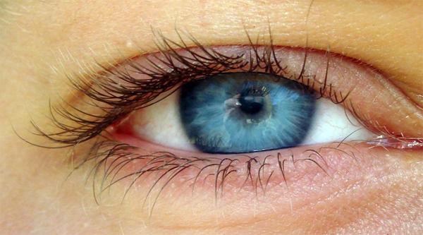 Передний слой окрашенной части глаза