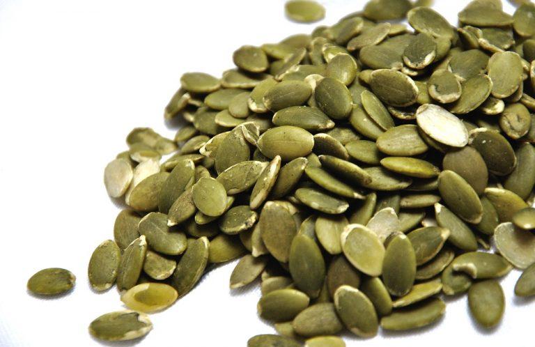 Семена тыквы имеют высокую концентрацию железа и магния