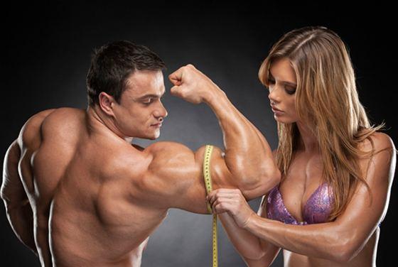Измерение двуглавой мышцы