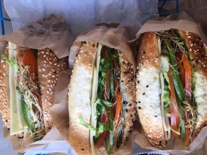 Бутерброд гауда