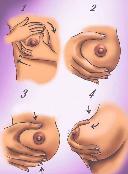техника сцеживания грудного молока