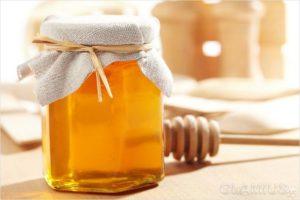 Майский мед и кипяченую воду
