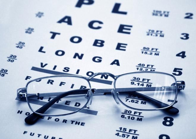 Таблицы для проверки зрения