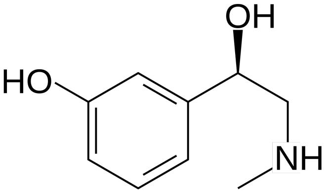 Формула фенилэфрина