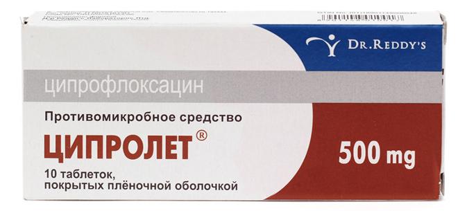 Ципрофлоксацин таблетки