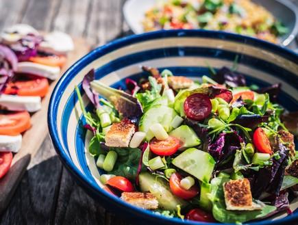 Овощной салат Это отличный вариант для первого блюда