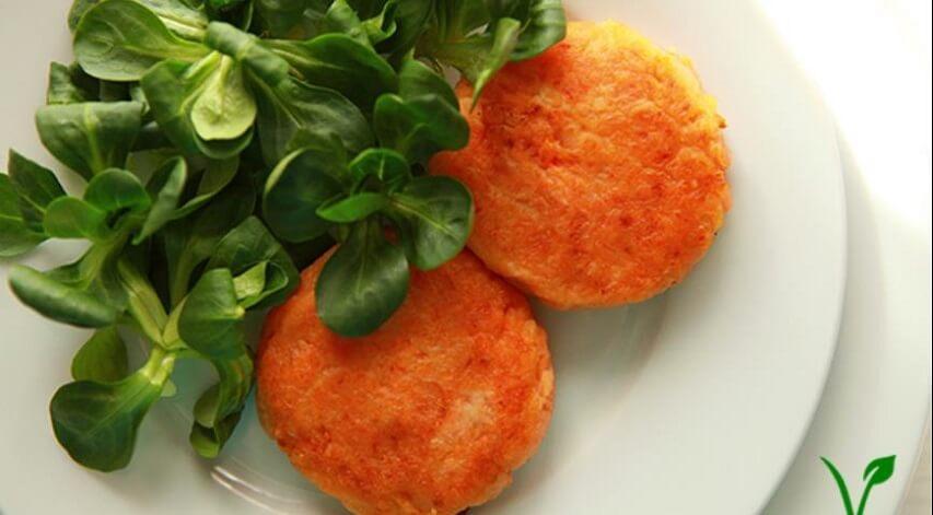 с сочной морковью