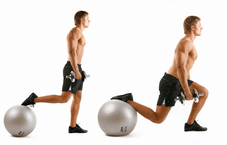Фитбол в мужской тренировке
