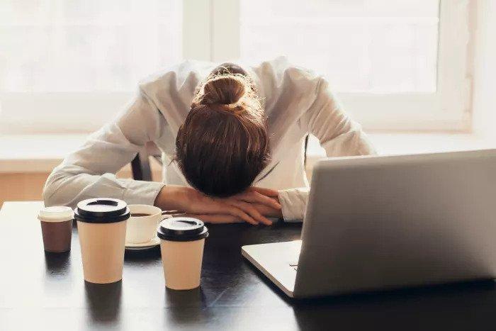 Усталость в офисе