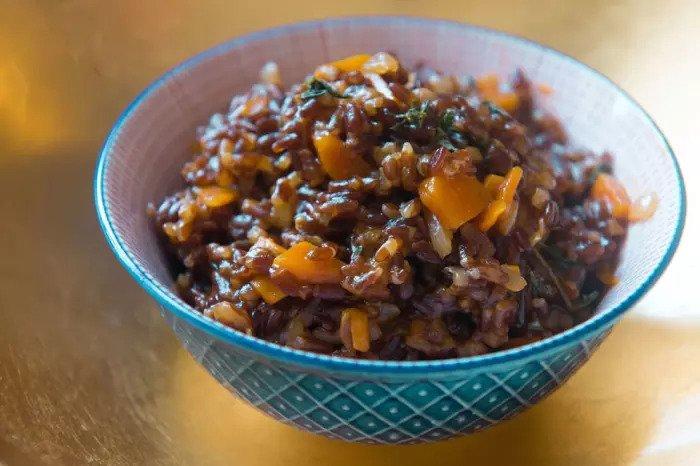 Чудесный красный рис орли