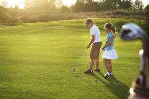 Плюсы гольфа для детей